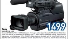 La videocamera per appassionati e professionisti: Sony SON HVR HD 1000